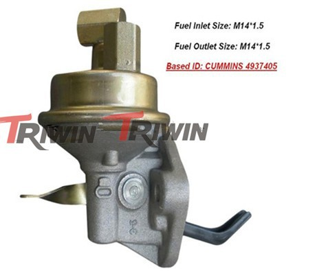 ISDE dongfeng diesel engine fuel transfer pump for truck price 4988769 tractor engine parts low for sale manufacture