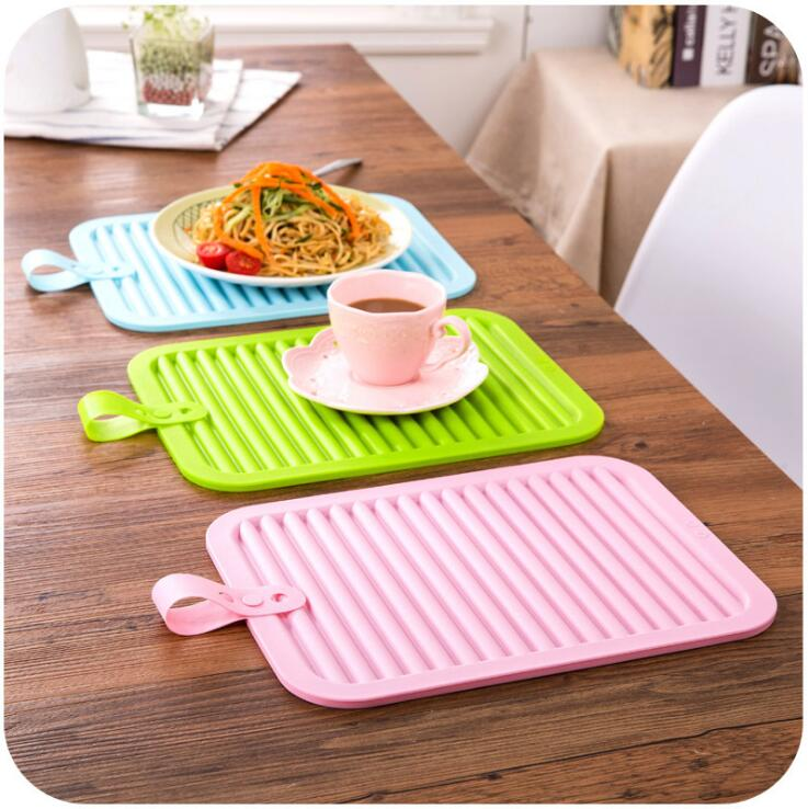 Silicone rubber hot pot holder silicone table pad pan mat