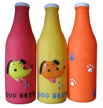 Provides real-world product education DL-PET-PT142 Pet toy -winebottle