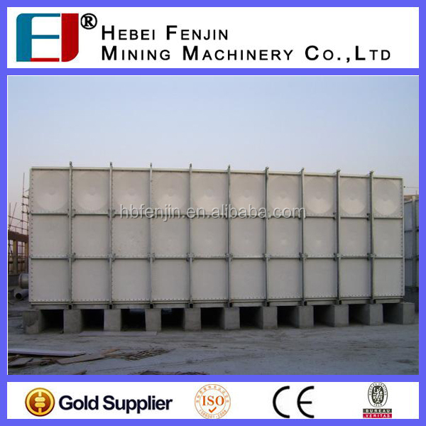 GRP Tank Manufacturer Large Volume SMC Combined Water Tank For Rain
