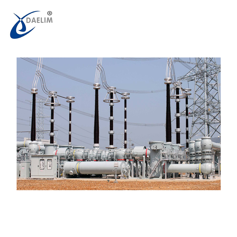 Electric Project Intelligent Gas 252kV Gas Insulated Switchgear(GIS)