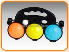 Colorful Outdoor Polyresin Petanque Ball Game