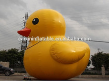 Customized Giant PVC Advertising Inflatable yellow duck/ Promotional inflatable yellow duck balloon