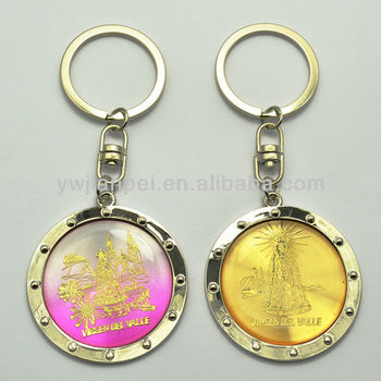 Giveaway Keyring With Big Size Custom Image