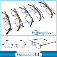 High quality metal frame light and handy reading glasses wholesale price reader meet CE/FDA BRM3942