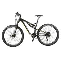 China supplies cool 4-bearings 27.5er 22Speed 100mm travel full suspension oil disc mountain bike