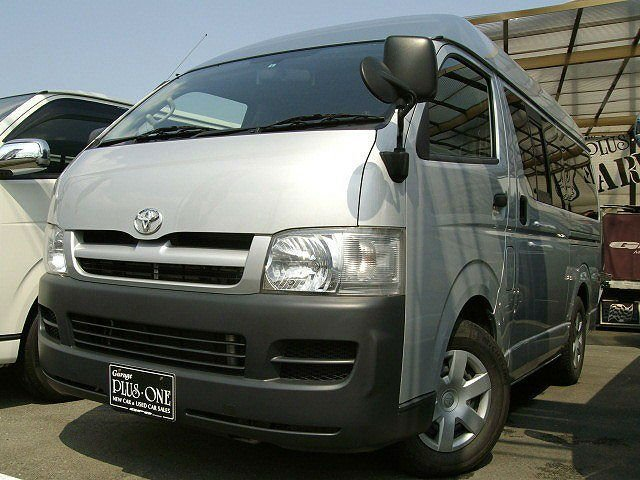 Toyota hiace van 2.5DX long high roof diesel turbo