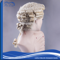 Barrister Wig brazilian hair Fast Shipping 100 Horse Hair Material Barrister Wig