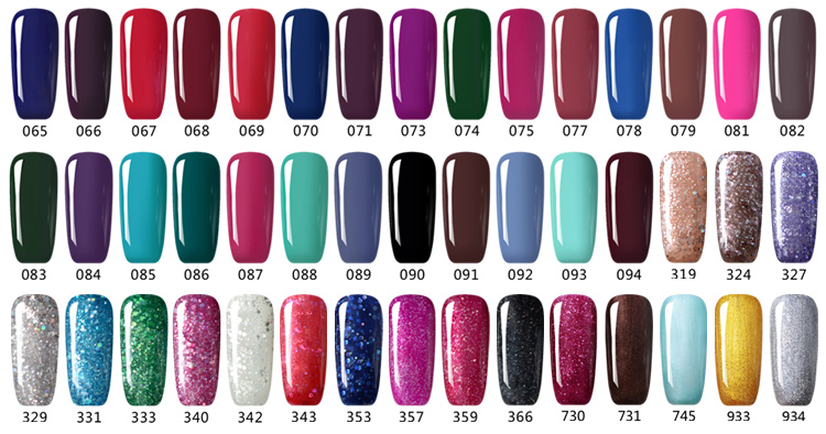 Lvmay High Quality Top Base Coat UV Gel Nail Polish Wholesale Gel Polish