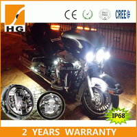 2015 newest 4.5inch foglight for harley davidson 4.5'' fog light for harley HG-W02