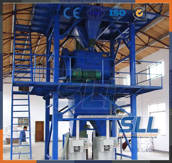 SINCOLA Latest Chinese product sincola full automatic dry mortar mixing & packing line export to Malaysia hot sale