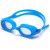 One piece wide vision silicone adults anti uv swimming goggles