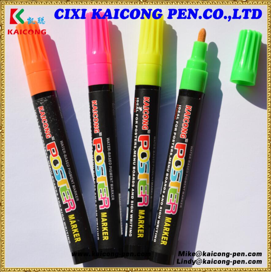 2018 High Quality DecoArt water-based pigment marker plastic barrel iPOSCA marker valve Action Acrylic paint marker