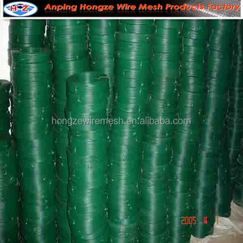 pvc coated green florist wire
