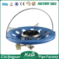China Factory Export Africa Cooking Appliances cheap camping gas burner,LPG protable single burner camping gas stove outdoor
