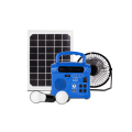 china supplier solar kit 10w solar lighting kit with cell phone charger