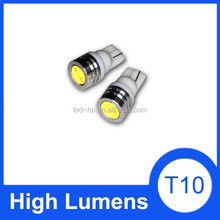 led light or car t10 License plate Parking signal auto led light white