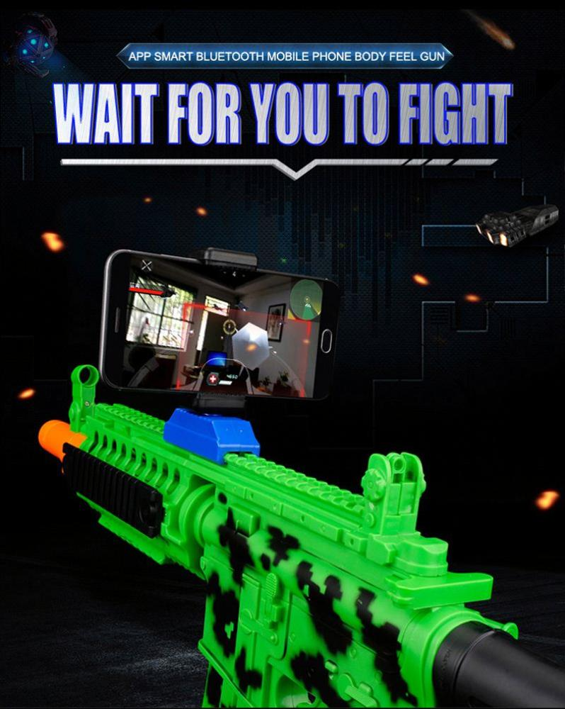 Promotional price distributor wanted Reality Experience Plastic AR gun game kids toy guns