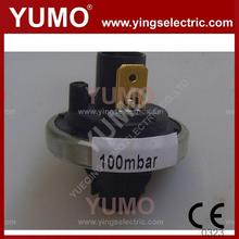 YUMO LFS-03 5mbar 2500mbar Pressure control switch adjustable oil pressure switch