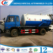 8cbm Sewage tanker Suction truck with vacuum pump for sale