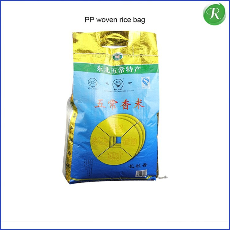 non woven shopping supermarket widely daily used friendly recyclable non woven rice bag