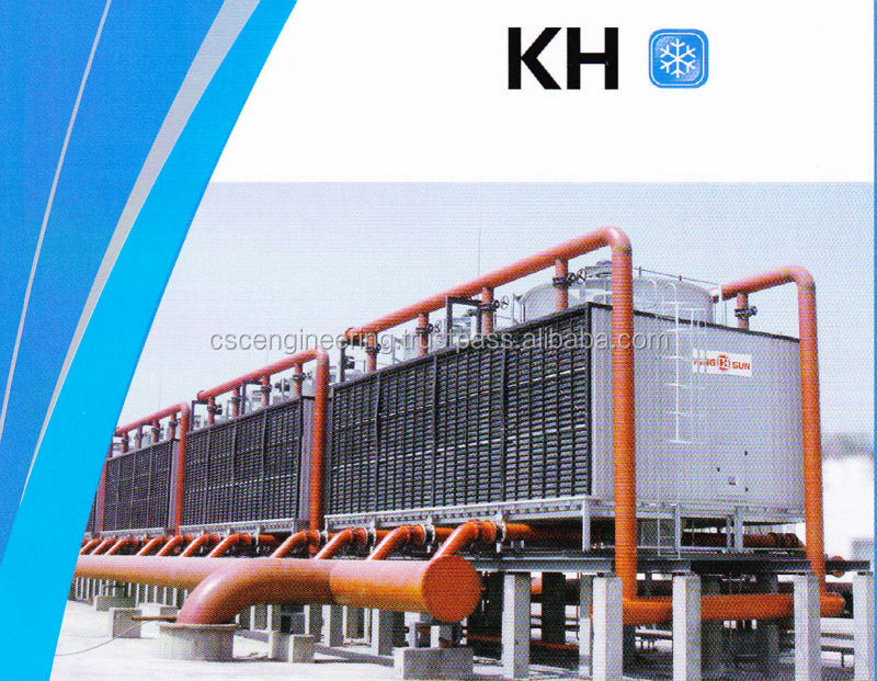KH 350 (175rt x 2 cells) Crossflow Square Type Cooling Tower