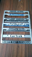 custom plastic license plate frames / wholesale license plate frames