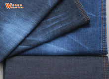 pure cotton thin denim fabric jeans made in china