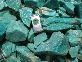 Rough Amazonite Brazil Amz03