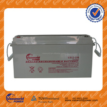 sealed rechargable battery Yemen brand 12v120ah lead acid battery factory located in Qingyuan