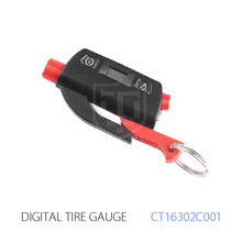 Best Sale Mini Digital Tyre Gauge CE RoHS Pressure Gauge with Key Chain 150Psi