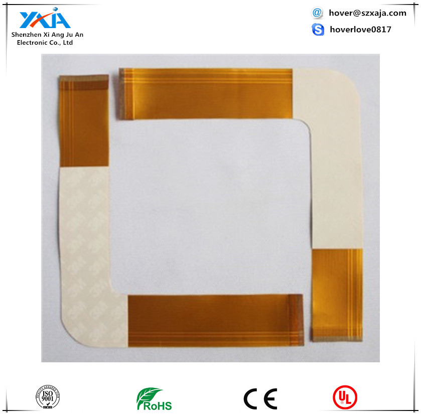 1-4 layers FPC, 5425n fpc 1 rev 2, electronic board ,Drill hole diameter 0.15 to 6.7mm flexible pcb