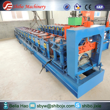 cold rolled roof ridge cap strong and durable roll forming machine hot sale for new year