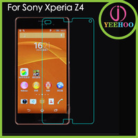 high clear glass protector for Sony Xperia Z4, 9H tempered glass screen protector