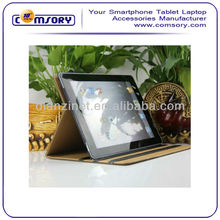 High Quality PU leather Smart Stand Case for apple iPad 2 Accept Paypal