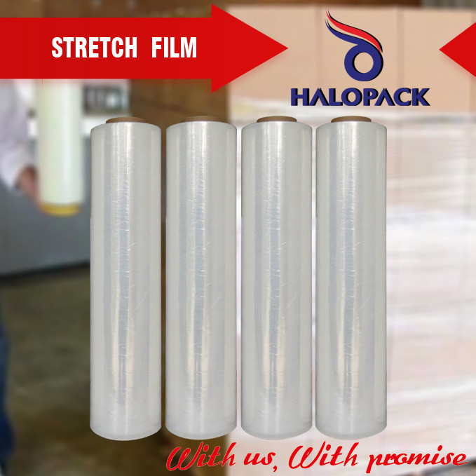 20 23 micron lldpe pallet wrap stretch film pe packing film