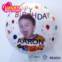 Low price sublimation custom made photo Balloon
