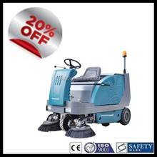 SDK1600 CE China industrial electric ride on small street sweeper