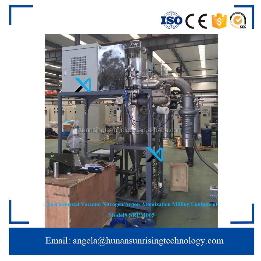 China Leading Experimentental Vacuum Powder Production Equipment Metal Powder Gas Atomization Equipment/Gas Atomizer