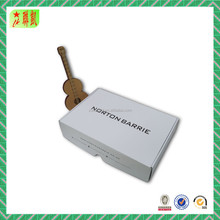 custom mailing printed shipping boxes simple ink print white corrugated paper box for Retail