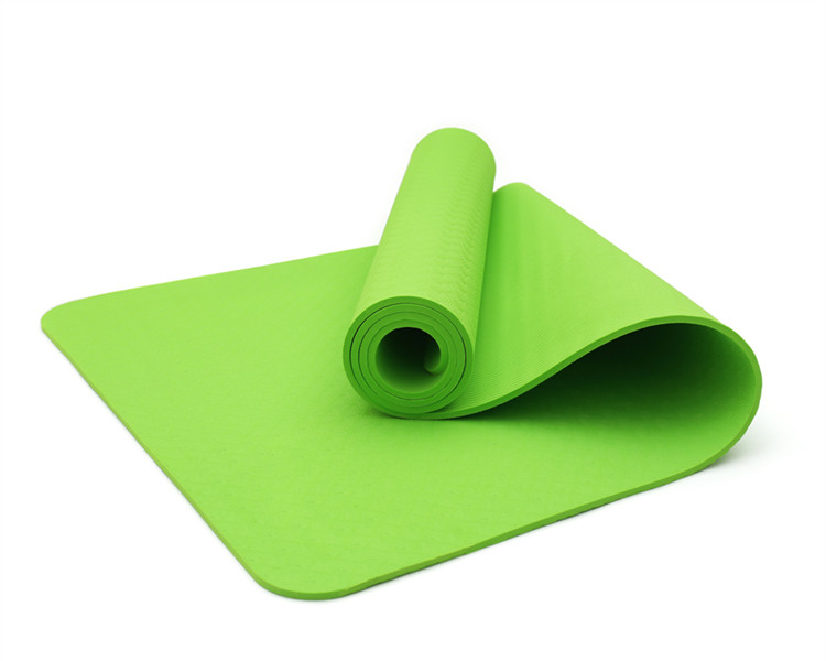 6mm Eco custom full color silk screen printing yoga mat