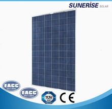 300w poly solar energy systems 4kw solar system on grid or off grid