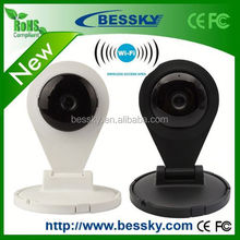 P2P ONVIF 720P Two-way audio wifi home IP camera bluetooth web camera