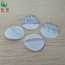 Die Cut Pieces Half Peel Aluminum Foil induction Seal Liner for bottle caps