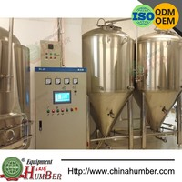 Mirror Polish Stainless Steel Red Copper Tank Used Brewery eEuipment for Sale Micro Brewery Beer Equipment