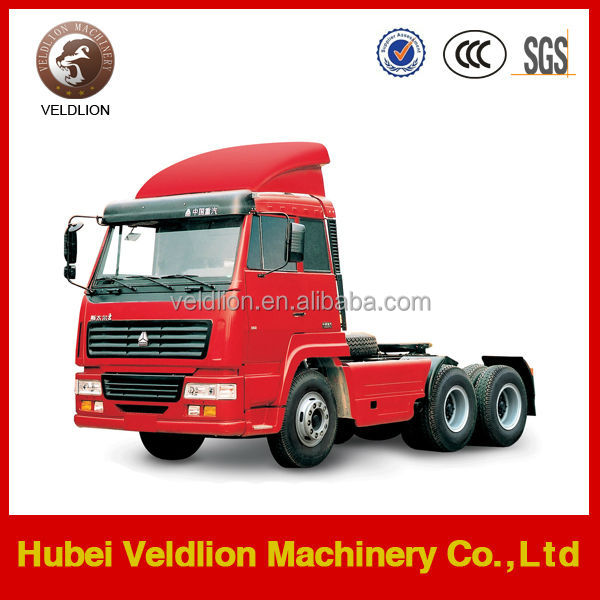 New brand 30-50T 6*4 China made truck tractor truck for sale