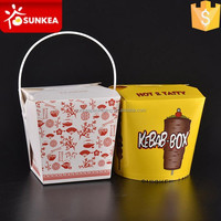 24oz 26oz 32oz disposable take away food grade Chinese paper noodle box