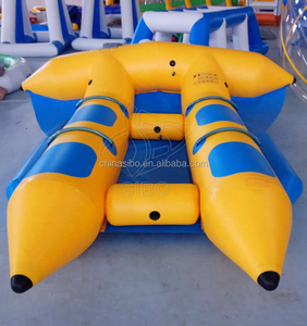Top Quality inflatable water game banana boat for sale