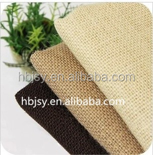 Best Priced raw jute cloth Wedding Decor Natural Pure Jute Burlap Rustic Hessian cloth Tape roll