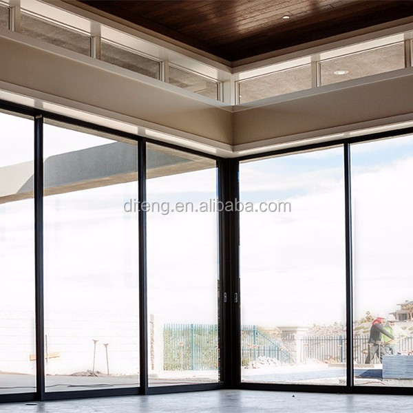 Window Fix Small Aluminum Fixed Commercial Frameless Glass Corner Windows Price Frame China Cheap Picture Windows for Homes